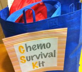 Chemo survival kit bag