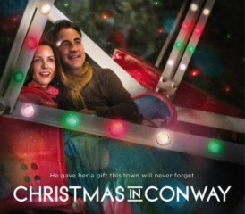 Movie poster of 'Christmas in Conway'