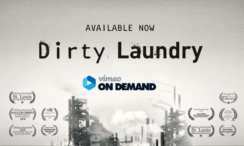 'Dirty Laundry' logo