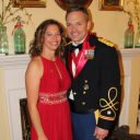 Colonel Doug Thomas and wife Tiffany