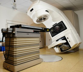 Linear accelerator in a hospital