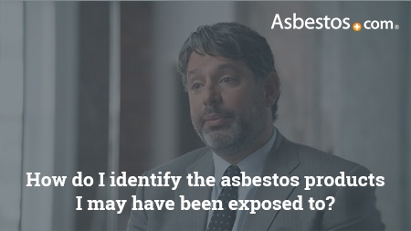 Peter Tambini of Weitz & Luxenberg video on identify asbestos products.