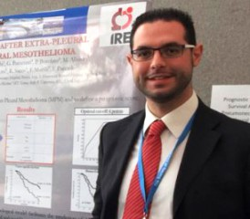 Dr. Giovanni Leuzzi of the National Cancer Institute in Rome