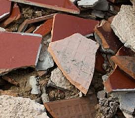 Broken Asbestos Products