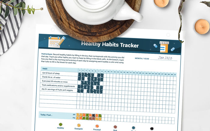 Healthy Habits Tracker for cancer patients and caregivers