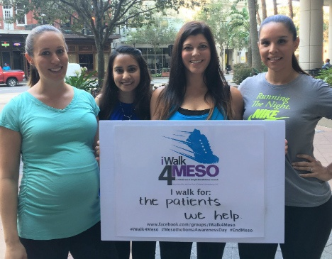 Walking for Mesothelioma Awareness: Join iWalk4Meso