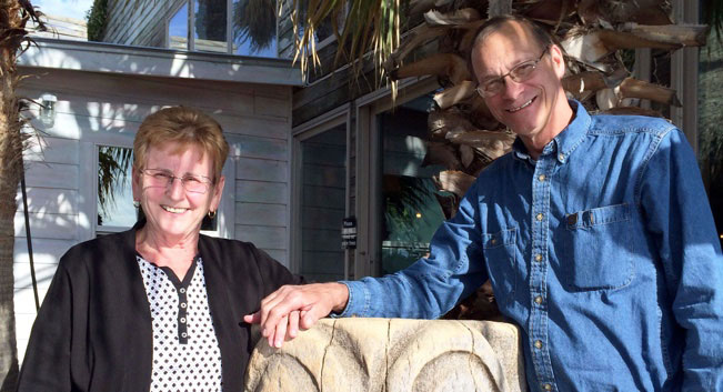 Walter Merth and wife Lee enjoy traveling as much as possible and spending time with family.