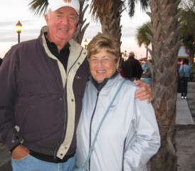Mesothelioma Survivor Jack Riordan and his wife