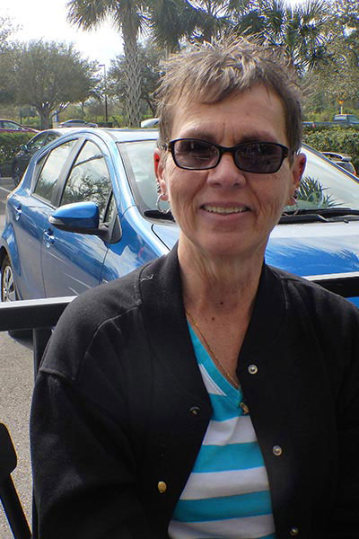 Judy Goodson, diagnosed with peritoneal mesothelioma in 2013