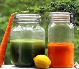 Jars with Blended Juices