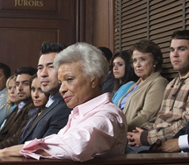 People on a jury