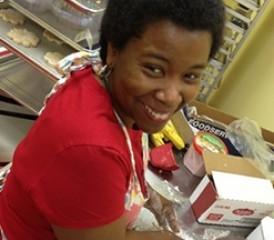 Kasie Coleman, Mesothelioma Survivor, Baking