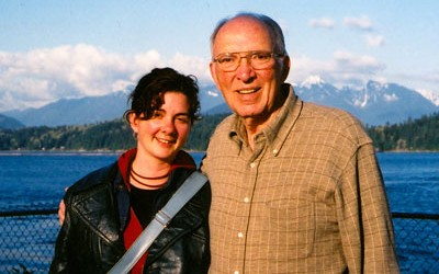 Kathleen Mullen and dad