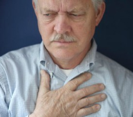 Man With Mesothelioma Chest Pain