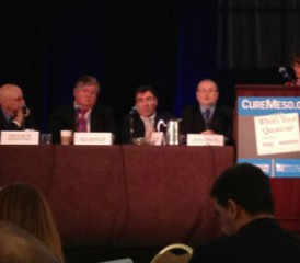 Panel at Mesothleioma Symposium