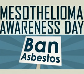 Mesothelioma Awareness Day 2015 illustration
