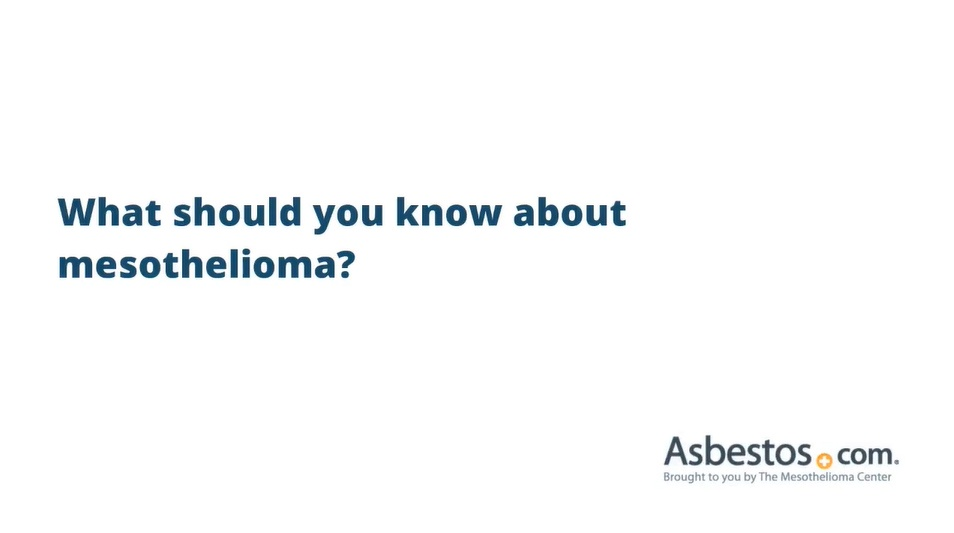 Mesothelioma Information List Of Treatment Compensation Resources