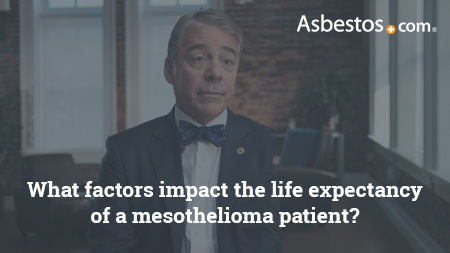 Video of mesothelioma specialist Dr. Marcelo DaSilva on the top three factors that determine a patient's life expectancy.