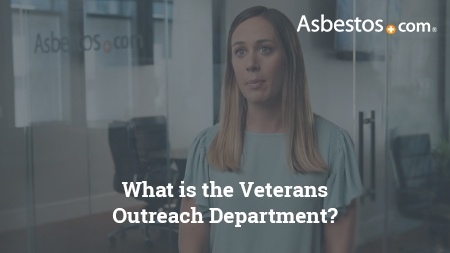 Video of VA-accredited claims agent Danielle DiPietro explaining how we connect with Service Officers to get veterans with mesothelioma the best care possible.