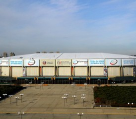 Nassau Veterans Memorial Coliseum in Long Island, N.Y.