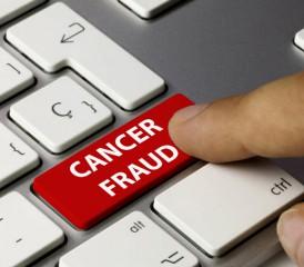 Online Cancer Fraud Button