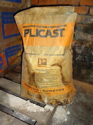 Plibrico Plicast Refractory Cement