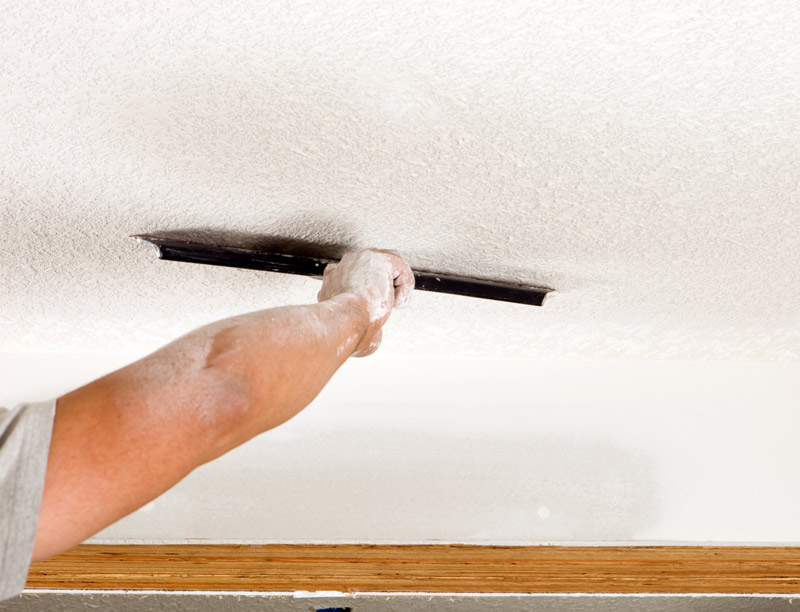 Asbestos Popcorn Ceilings: What Is Considered Safe?