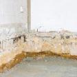 Basement contaminated by radon