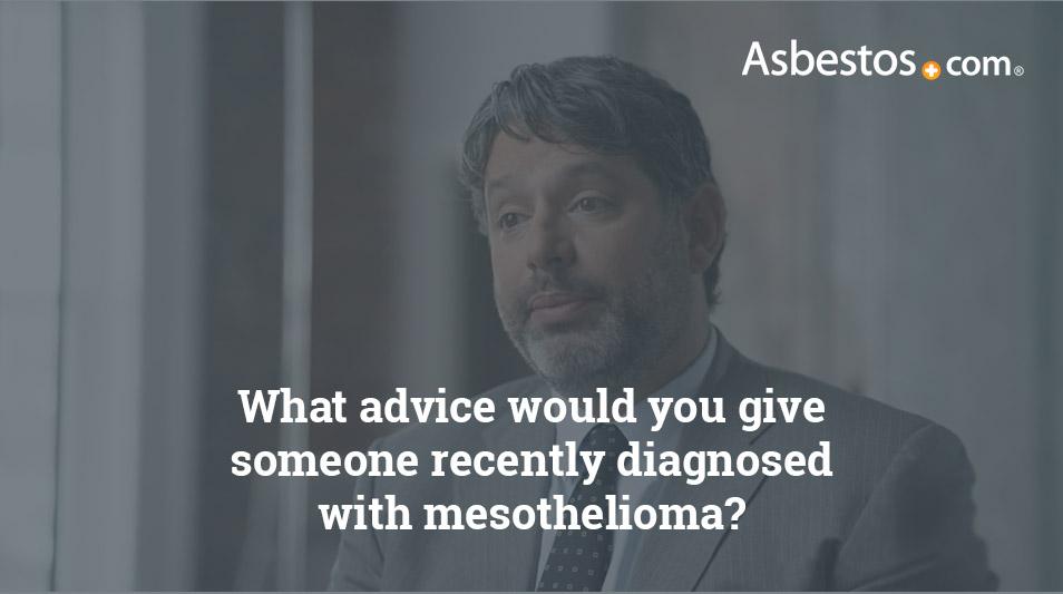 Mesothelioma diagnosis advice video thumbnail