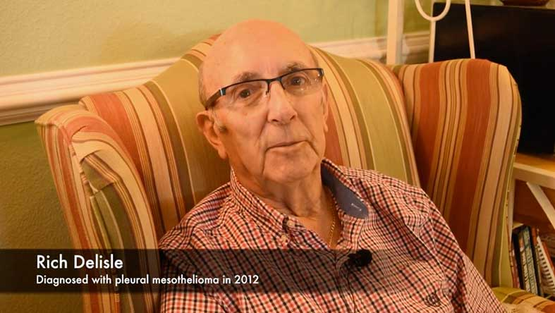 Rich Delisle on his firsthand experience participating in a Keytruda clinical trial for treating mesothelioma.