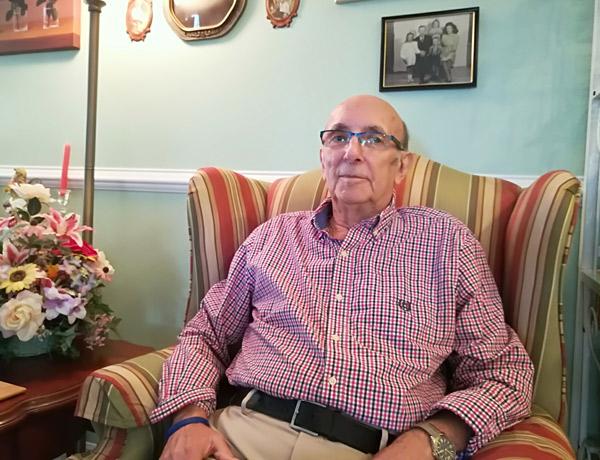 Rich DeLisle, mesothelioma patient who entered hospice