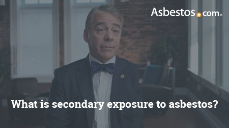 Video of mesothelioma expert Dr. Marcelo DaSilva explaining secondary asbestos exposure and mesothelioma.