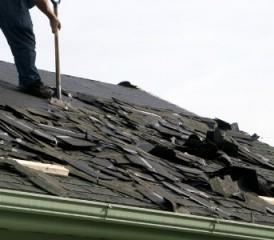Burning Asbestos Shingles Earns Stiff Sentence For