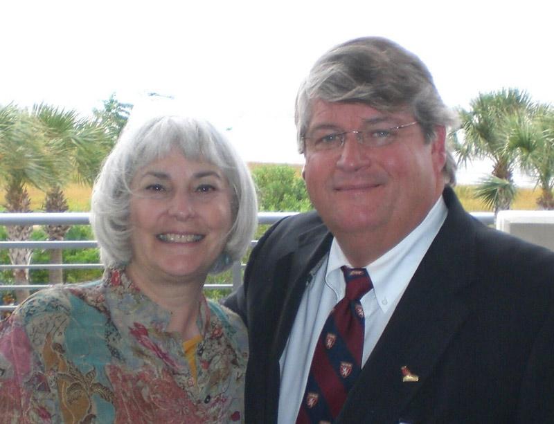 Sissy Hoffman and Dr. David Sugarbaker