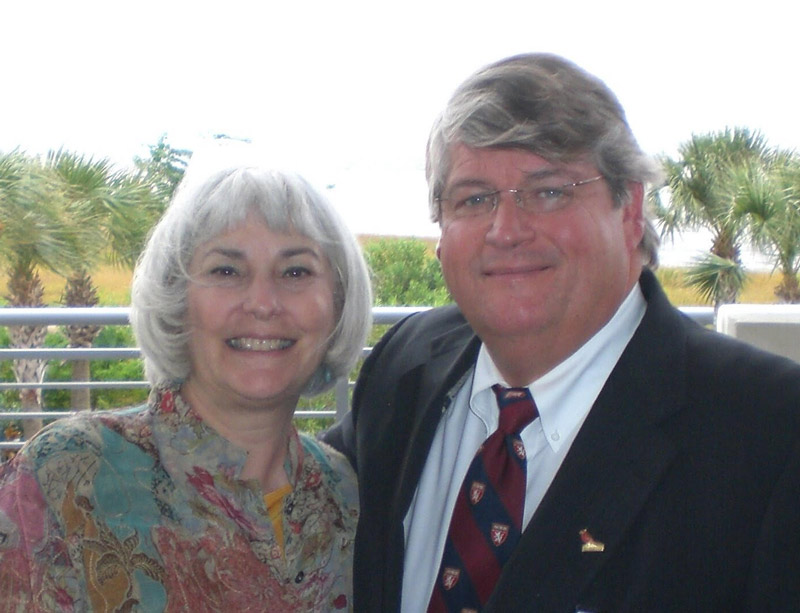 Sissy Hoffman and Dr. David Sugarbaker