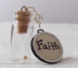 Small Bottle & Faith Cap