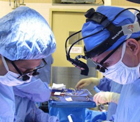 Two Surgeons Operating