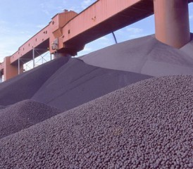Taconite iron ore pellets