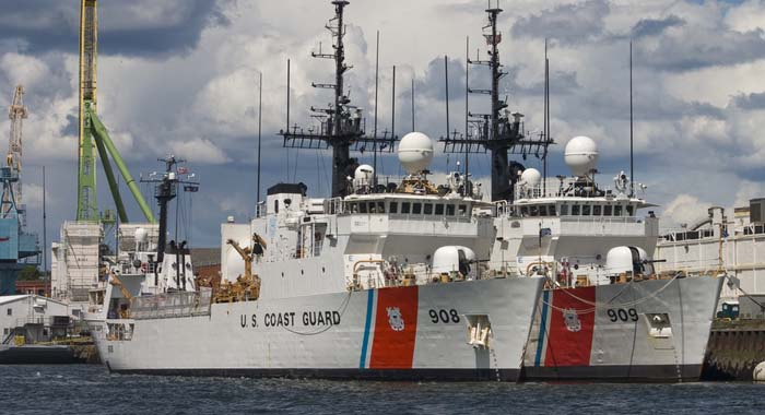 US Coast Guard Vessel