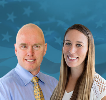 VA-Accredited Claims Agents Aaron Munz and Danielle DiPietro