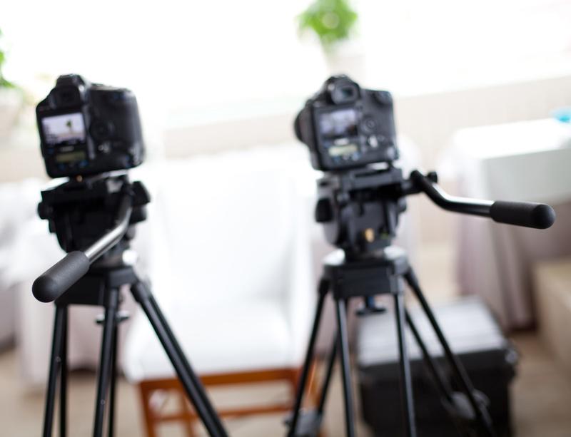 Video interview setup