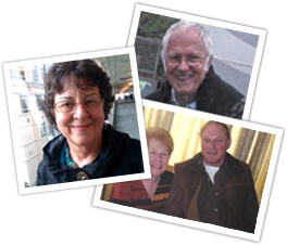 Several images of mesothelioma survivors