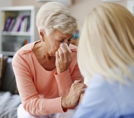Caregiving Talking to a Patient that is Grieving