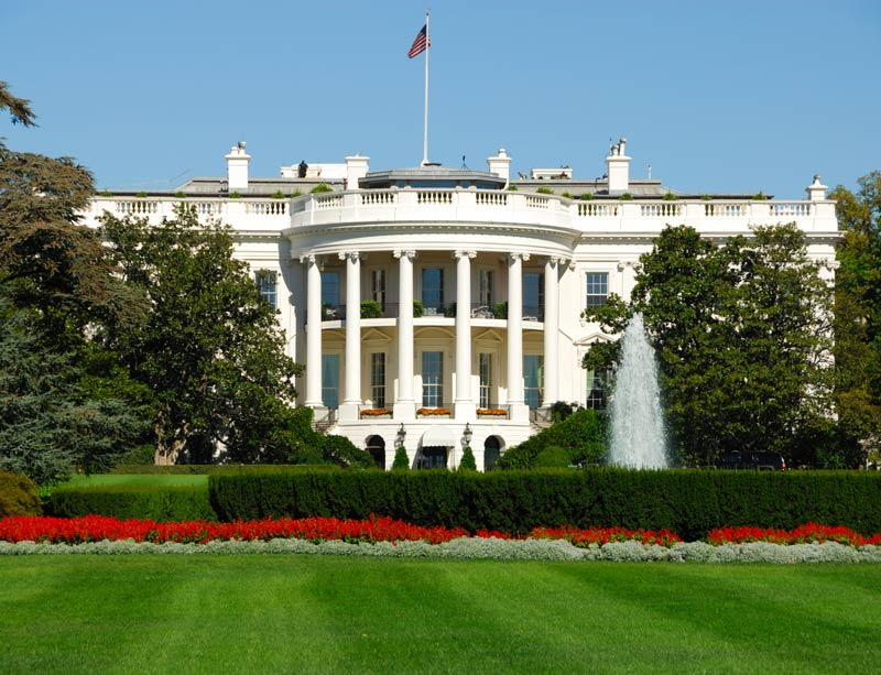 Pleasant White House Asbestos Risk Forces Top Staff Relocation Home Interior And Landscaping Ymoonbapapsignezvosmurscom
