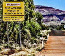 Warning Sign of Asbestos in Wittenoom