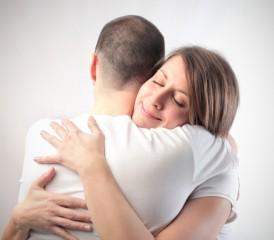 Man & Women Hugging