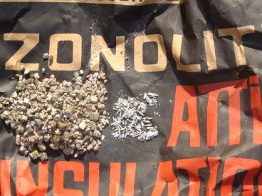 Zonolite asbestos insulation